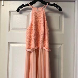 Never Worn formal peach dress